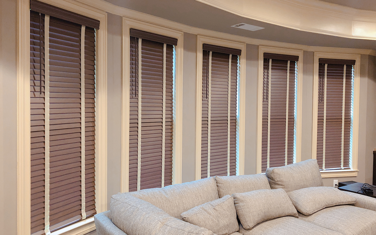 EKWF Faux Wood Blinds